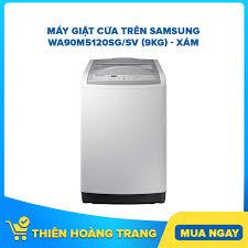 Máy Giặt Cửa Trên Samsung WA90M5120SG/SV (9kg) - Xám chính hãng