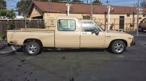 Daily Turismo: 1k: Long Wheelbase: 1982 Toyota Hilux Pickup Crew Cab