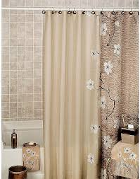 modern fabric shower curtain. Reflections Floral Fabric Shower Curtain Unique Modern Curtains Brown \u2013 Home Remodeling And