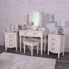 vintage chic bedroom furniture. 5 Piece Bedroom Furniture Set - Adelise Range Vintage Chic I