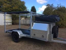 brand new tohauler quad bike sxs cing trailer
