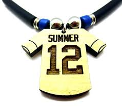 engraved necklaces for guys sports jewelry