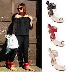 size 13 women hot sale open toe leather gladiator sandals women flats designer