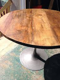 wood for dining table top round dining table top inch round bistro by solid wood flip