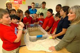 LSU AgCenter Lessons Help Students Learn About Storms Coastal Erosion More
