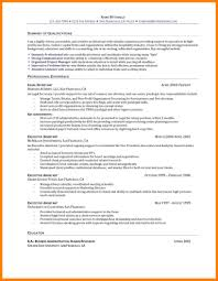 Resume Profile Examples Entry Level 24 Entry Level Resume Objective Example Precis Format 24