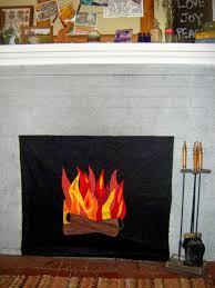 impressive ideas fake fire for fireplace how to make a highwinds us