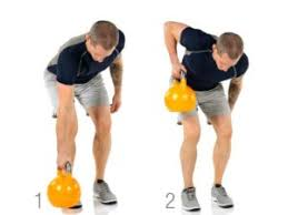 Image result for single arm bent over kettlebell row