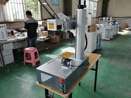 <b>Raycus rotary axis included</b> 30W 20W mini fiber laser marking ...
