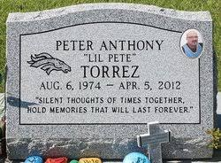 Peter Anthony Torrez (1974-2012) - Find A Grave Memorial