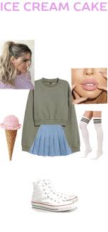 Red Velvet Ice Cream Cake Outfit Shoplook