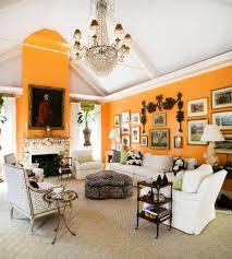 Orange Living Rooms Home Kemble Interiors