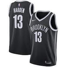 Brooklyn Nets Nike Icon Swingman Trikot ...