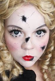 makeup your jangsara tutorial broken doll photos of how she created this this would be a good idea for costume