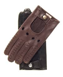 men s long fingered lambskin leather driving gloves