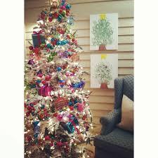 office christmas decorations unique circus tree flocked tree kids christmas tree christmas diy