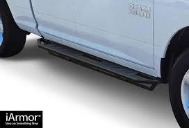 iArmor Aluminum Side Steps Armor Custom Fit 2009-2018 Dodge ...