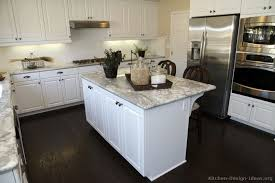 white kitchen dark wood floor. New Ideas Dark Wood Floors In Kitchen White Cabinets With Welcome \u2014 Post Has Been Floor .
