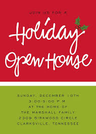 Christmas Open House Invitation Holiday Open House Printable Invitation Christmas Christmas Open
