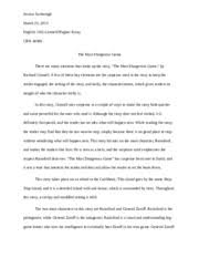 the most dangerous game essay it sets a tone that interests the the most dangerous game essay it sets a tone that interests the reader and does not allow the reader to set the book down this story takes place on an