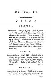 an historical and moral view of the origin and progress of the  original table of contents or first page