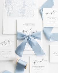 How To Tie Silk Ribbon Wedding Invitations