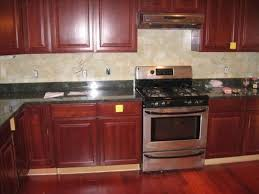 kitchen backsplash cherry cabinets black counter. Counter White Wooden Cabinet And Top Brown Polished Island Kitchen Backsplash Cherry Cabinets Black A