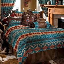 turquoise chamarro southwestern comforter sets