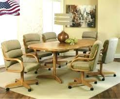 dining room chairs with casters fantastic kitchen breathtaking dining room chairs casters dining room chairs on