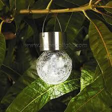 le globe solar hanging lights