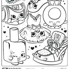 Shopkin Coloring Pages Free Printable Coloring Pages Season 1