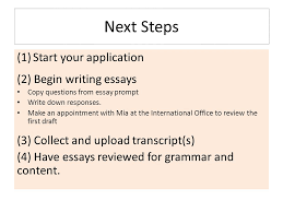 how to apply for gilman scholarship for study abroad or how to  next steps 1 start your application 2 begin writing essays copy questions