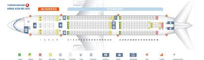 Delta Airlines Airbus A333 Seating Chart Turkish Airlines Fleet Airbus A330 300 Details And Pictures