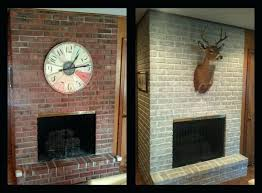 exciting painting red brick fireplace paint a brick fireplace painting red brick fireplace white