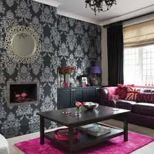 Pink black and white room Photo  1: Pictures Of Design Ideas