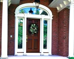 craftsman front door with transom front door with sidelights and transom exterior doors with side exterior craftsman front door