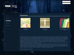 10 Free Professional Websites Templates Psd Files