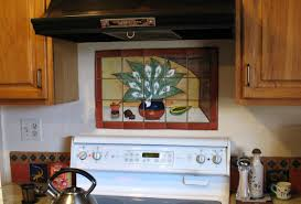 Mural Tiles For Kitchen Decor Mexican Tile Mural Backsplash Mexican Home Decor Gallery Mission 28