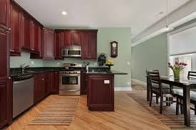 Small Picture Appealing Kitchen Colors With Dark Cherry Cabinets Best Paint For