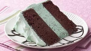Mint Chocolate Ice Cream Cake Recipe Bettycrockercom