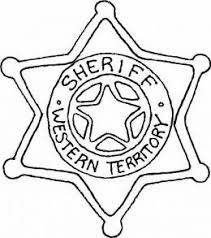 western coloring pages. Perfect Pages Sheriffu0027s Badge Of Western North America  Cowboy Kids Coloring  Pages And Free Colouring Pictures To Print In A