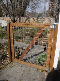 welded wire fence gate. Encing For Front YardDIY Wire Filled Gate. Neat Idea Fencing To Keep Jessie Owens Corralled. Welded Fence Gate W