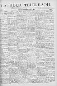 Catholic Telegraph 1888 08 02 Catholic Telegraph Digital Library