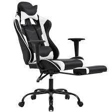 <b>Ergonomic Office Chair PC</b> Gaming Chair Desk Chair Executive PU ...