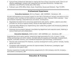 Ms Office Resume Templates 2012 Resume Template Administrative Assistant Skills Unforgettable 99