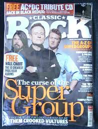Classic Rock Issue 146 July 2010 Dave Grohl John Paul
