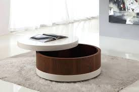 round storage table small round wood coffee table with storage storage furniture for living room