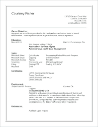Legal Records Clerk Sample Resume Ha