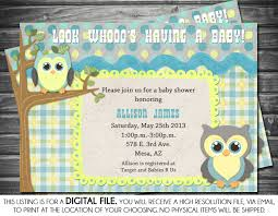 6 Smart Owl Baby Shower Invitations Printables U0026 Ideas For Kids Owl Baby Shower Invitations For Boy