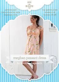 Peasant Dress Pattern Inspiration Sis Boom Meghan Peasant Dress